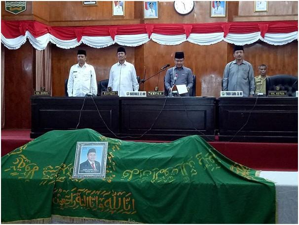 DPRD Kabupaten Solok Berduka: Hardi Asmi Dipanggil Menghadap Sang Pencipta